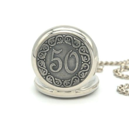 Birthday Years Pocket Watch Personalised