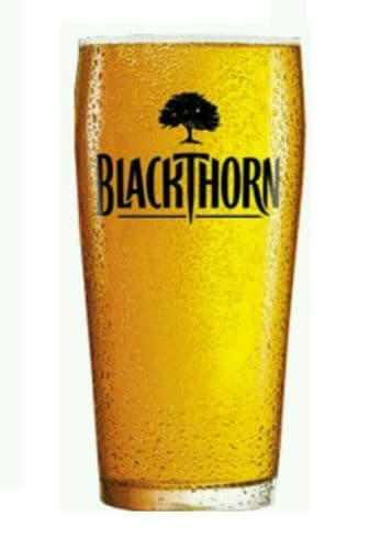 Blackthorn Cider Glass Personalised