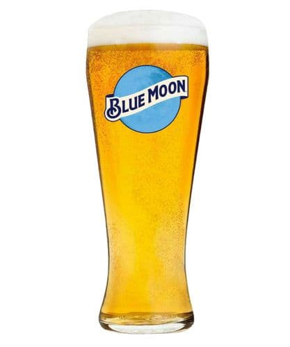 Blue Moon 1 Pint Glass Personalised