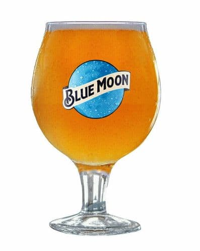 Blue Moon Chalice Glass Personalised