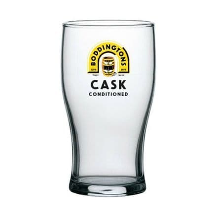 Boddingtons Cask 1 Pint Glass Personalised