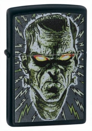 Bolted Man Zippo Lighter Personalised