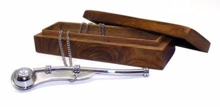Bosun's Call Whistle In Wooden Box Personalised
