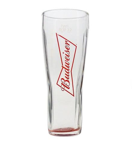 Budweiser Red 1 Pint Glass Personalised