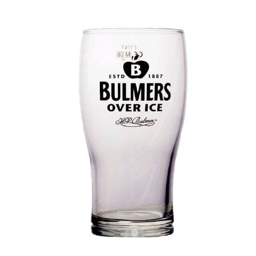 Bulmers Over Ice 1 Pint Glass Personalised