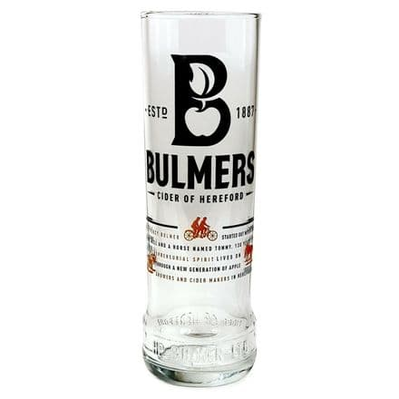 Bulmers Pint Cider Glass Personalised