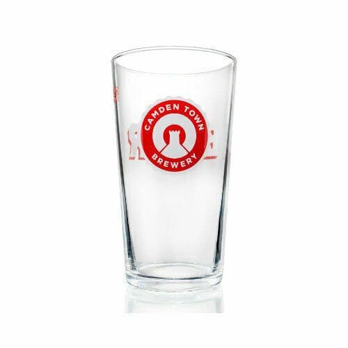 Camden Town Brewery ½ Pint Glass Personalised | County Engraving