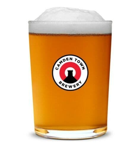Camden Town Brewery Pint Jack Glass Personalised | County Engraving