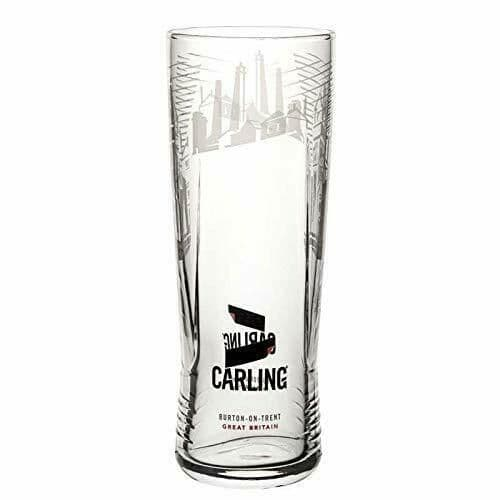 Carling Black Skyline Glass Personalised | County Engraving