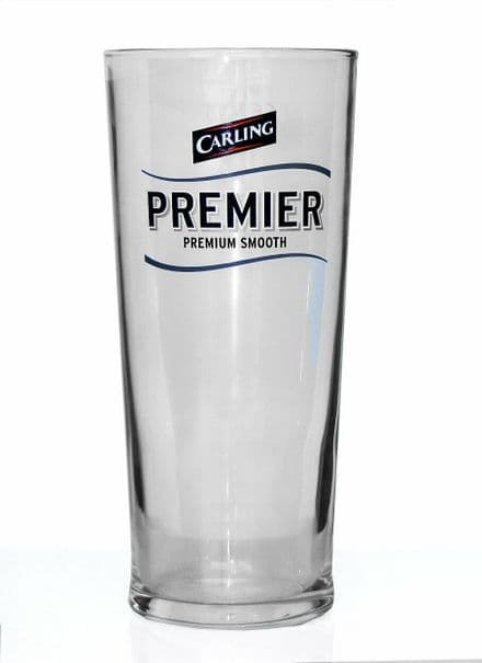 Carling Premier Lager 1 Pint Glass Personalised