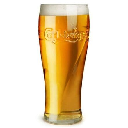 Carlsberg 1 Pint  Beer Glass Personalised