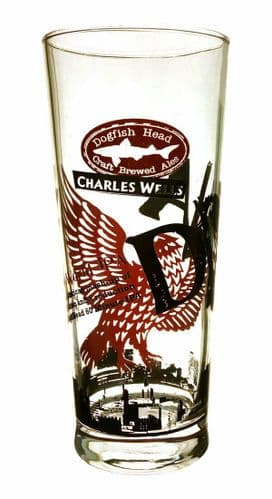 Charles Wells Dogfish Head DNA Beer Glass Personalised
