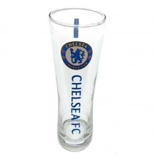 Chelsea FC Pint Glass Personalised
