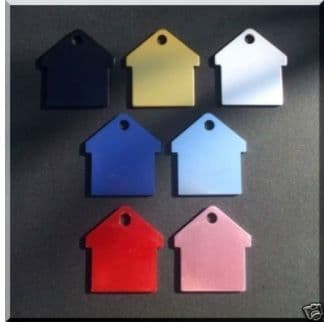 Colourful House Tags