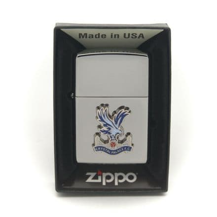 Crystal Palace FC Zippo Lighter Personalised