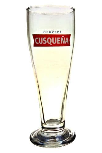Cusquena Beer Glass Personalised