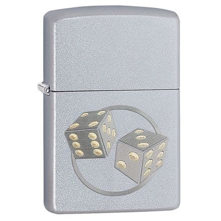 Dice Design Zippo Lighter Personalised