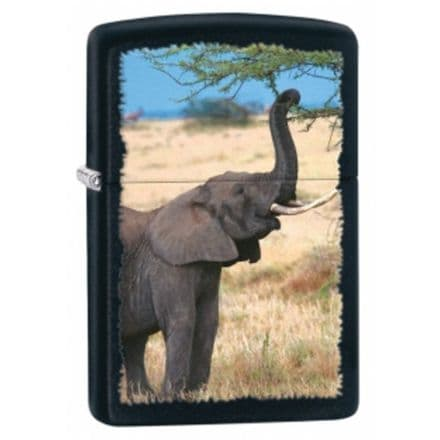 Elephant Zippo Lighter Personalised