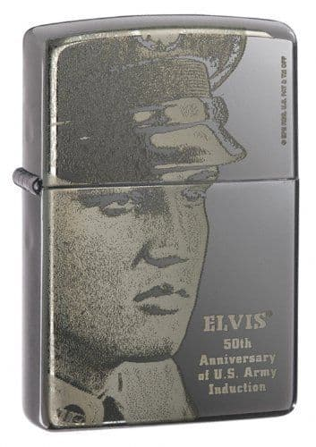 Elvis Limited Edition Zippo Lighter Personalised