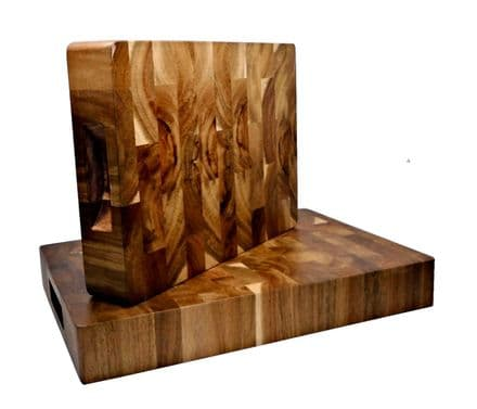 Endgrain Acacia Butchers Block Personalised