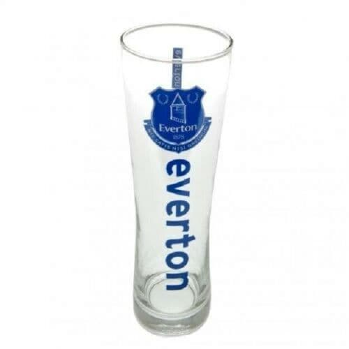 Everton FC Pint Glass Personalised