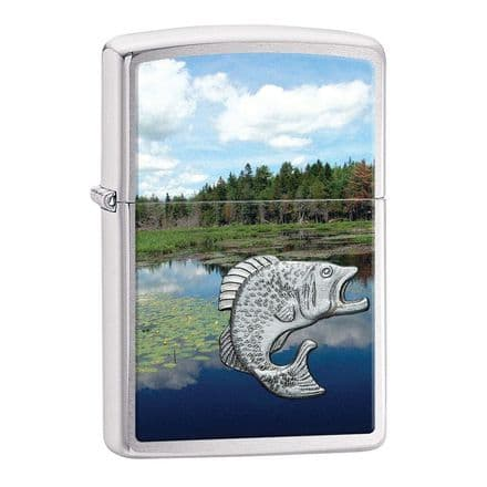 Fish in Lake Zippo Lighter Personalised