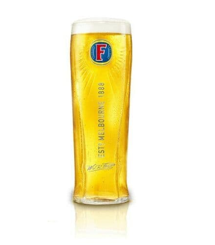 Fosters New Style Glass Personalised