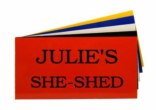 Garden Ladies She Shed Sign Personalised