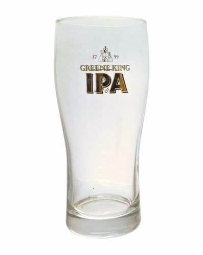 Greene King IPA Over sized One Pint Glass Personalised