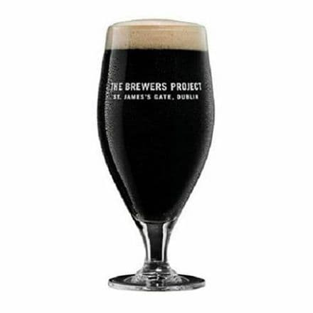 Guinness Brewers Project One Pint Glass Personalised