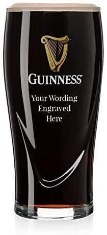 Guinness Gravity Glass Personalised
