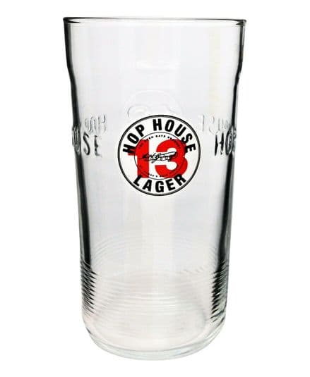 Guinness Hop House 13 Lined Pint Glass Personalised
