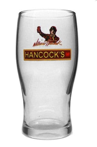 Hancock's Real Ale Pint Glass Personalised