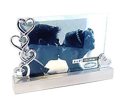 "Heart 4"" x 6"" Photo Frame Personalised"