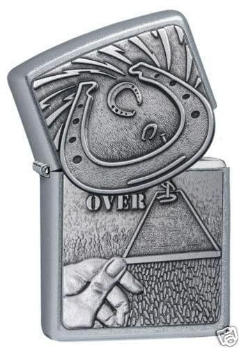 Horseshoe Emblem Zippo Lighter Personalised