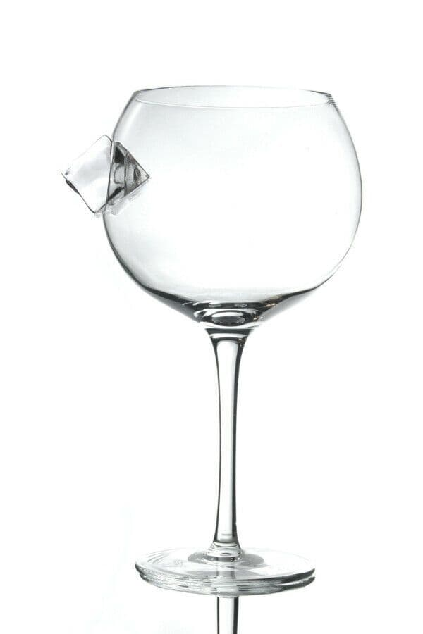 Ice Cube  Large Balloon Copa Gin Glass Personalised