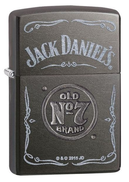 Jack Daniels Gray Dusk Label Zippo Lighter Personalised
