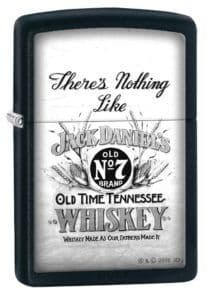 Jack Daniels There's Nothing Like Zippo Lighter Personalised