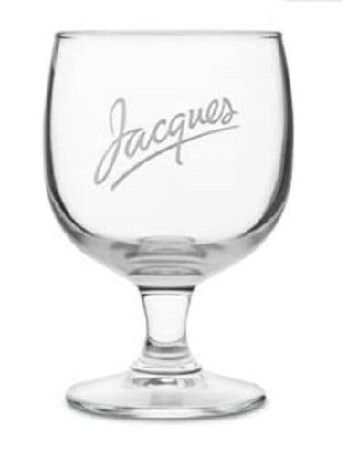 Jacques 10oz Cider Glass Chalice Personalised  | County Engraving