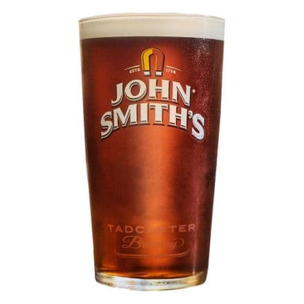 John Smiths 1 Pint Glass Personalised
