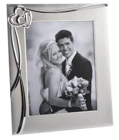 Joined Hearts Photo Frame Personalised