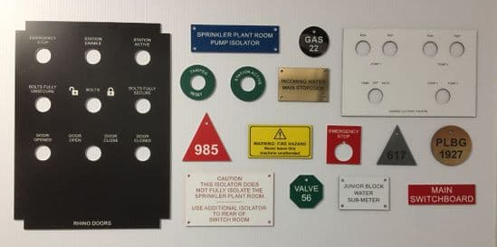 Laminated Labels and Discs