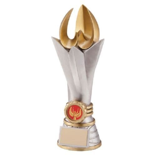 Large Victory Torch Achievement Award Personalised