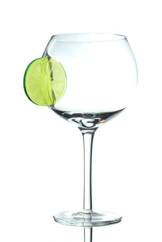 Lime Large Balloon Copa Gin Glass Personalised
