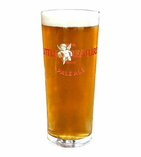 Little Creatures Pale Ale Glass Personalised