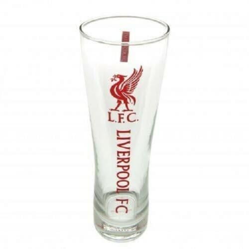 Liverpool FC Pint Glass Personalised