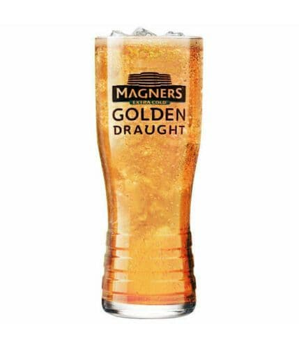 Magners Cider Golden Draught  Pint Glass Personalised
