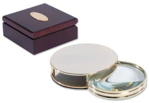 Magnifying Glass With Wooden Box Personalised