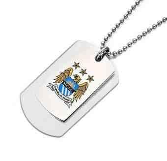 Manchester City Double Army Tags Personalised