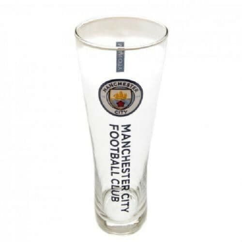 Manchester City FC Pint Glass Personalised